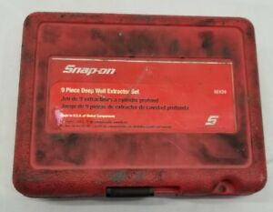 Snap on Bexd9 9pc Deep Well Extractor Set In Case