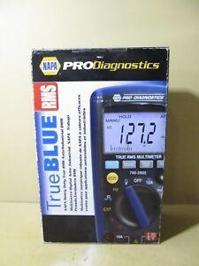 Napa Pro Diagnostics True Blue Rms Auto industrial Dmm 700 2605