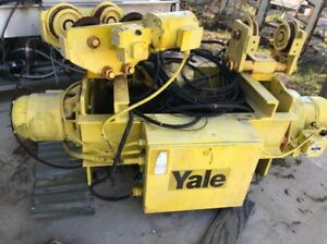 2 Avail Jib Crane 5 ton 360 Power Rotation 15 Hub Free Stand In outdoor