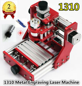 Diy Mini Cnc 1310 Router Metal Pcb Milling Engraving Laser Machine er11 Collet