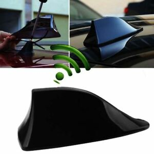 1pcs Car Auto Shark Fin Roof Antenna Radio Fm Am Decorate Aerial Replacement