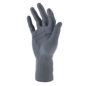 Soft Pvc Realistic Male Mannequin Hand For Gloves Jewelry Watch Display