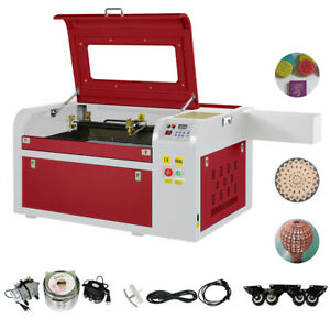 Usb Port High Precise 60w Co2 Laser Cutter Engraving Cutting Machine 600x400mm