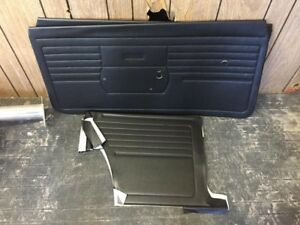 1968 Chevy Camaro Front And Rear Unassembled Door Panels