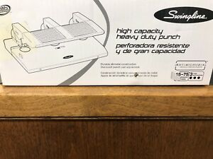 sale Swingline 74550 Heavy Duty Hole Puncher 75 Sheet Punch Capacity