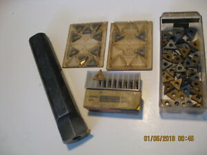 Valenite Lathe Cnc Groove And Thread Tooling With Inserts Lot