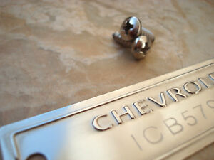 1953 1963 Chevrolet Id Tag Data Plate With Your Vin Number Polished Surface