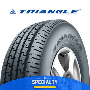 Triangle Tr653 St205 75r15 D 8pr 4 Tires Specialty Trailer Tire 205 75 R15