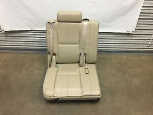 2007 2014 Escalade Suburban Tahoe 3rd Row Seat Tan Leather Passenger Side