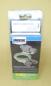 T connector Reese Towpower Trailer Wiring Kit 78067