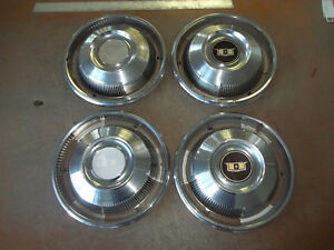 1967 67 Chevrolet Impala Hubcap Rim Wheel Cover Hub Cap 14 Oem Used 3008 Set 4
