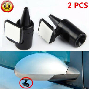 2x Ultrasonic Car Deer Animal Alert Warning Whistles Safety Sound Alarm Black Cd