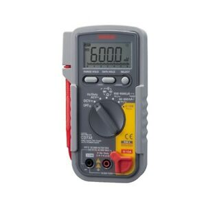 New Sanwa Cd732 Digital Multimeters Multifunction Electric Instrument From Japan