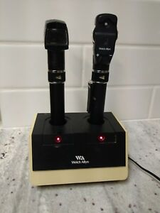 Welch Allyn 728 Pen Otoscope Opthalmoscope Charger Base used