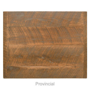 New 24 X 30 Economy Urban Distressed Table Top Provincial Finish