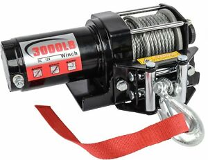 Jegs Performance Products 92600 3000 Lb Electric Winch For Truck Or Trailer