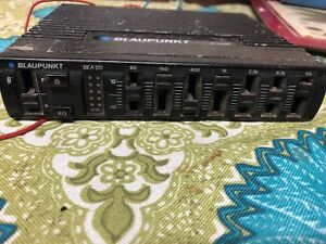 Vintage Graphic Equalizer Amplifier Blaupunkt Bea 120