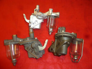 Nos 1933 38 Dodge Chrysler Plymouth Fuel Pumps Ac 419 b