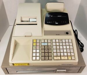 Toshiba Tec Ma 1350 Electronic Cash Register As Is Powers On Read 2
