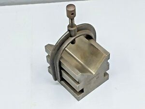 Brown Sharpe 649a Precision V block And Clamp Milling Fixture Machinist Tool