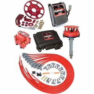 Msd Ignition 77303k Power Grid Ignition System Kit Big Block Chevy Includes Pow