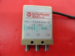 Dow key 401 420832a 2 Dc 18ghz Single Pole Double Throw Rf Switch