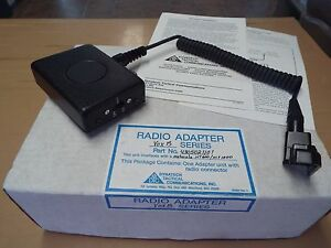 New Ptt Vox Dynatech For Motorola Ht600 Mt1000 1 Adapter With Radio Connector