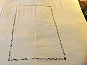 2 Antique Linen Bedspread Coverlet For A Four Poster Bed