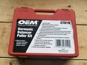 27019 Oem Tools Harmonic Balancer Puller Kit
