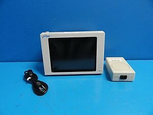 Spacelabs 90367 Patient Monitor W Nibp spo2 Module Mw100 Power Supply 16380