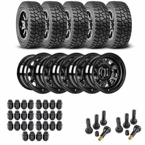 Jegs Performance Products 681010k15 Jeep Wheel And Tire Kit 1987 2006 Wrangler Y