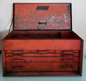 Vintage Snap On Tool Box Kr 56 1940 1950s Restoration Project Or Parts