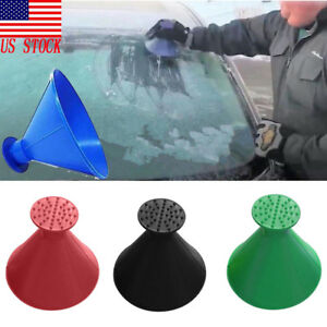 New Car Vehicle Durable Snow Ice Scraper Tool Snow Brush Removal For Winter Us