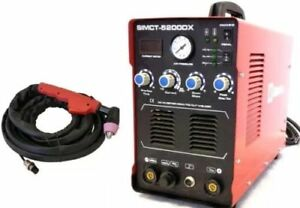 Plasma Cutter 50a Simadre 110 220v 5200dx 200a Tig Arc Mma Welder Rate 60a Torch