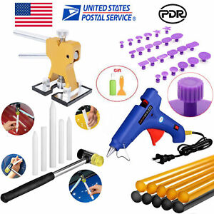 Paintless Dent Removal Auto Body Hammer Dent Puller Lifter Pdr Tools Glue Car
