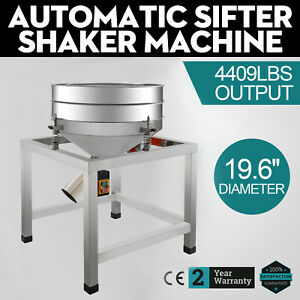 Automatic Sifter Shaker Machine Vibration Motor Grid Design Screen Deck On Sale