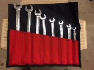 Gm Goodwrench 10 Piece Sae Combination Wrench Set