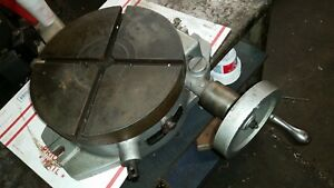 Troyke 12 Rotary Table Model Bh 12