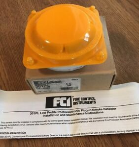 Fci 301pl Fire Alarm Photoelectronic Smoke Detector