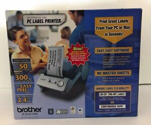 Nib Brother P touch Ql 500 Pc Thermal Label Printer 50 Labels Per Minute