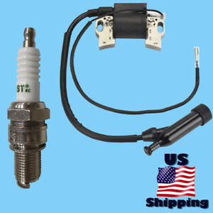 Champion Ignition Coil Spark Plug For 100496 41030 5000 9375 6000 40023 41332