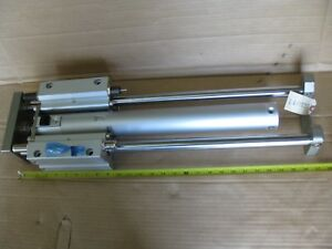 Smc Mggmb50tn 400 rn Double Acting Pneumatic Air Guided Cylinder 50 Mm X 400 Mm