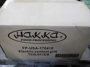 Hakka Commercial Professional Restaurant Grade Panini Press Grill And Griddler