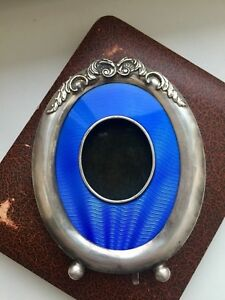 Faberge Design Imperial Russia 84 Silver Sample Photo Frame