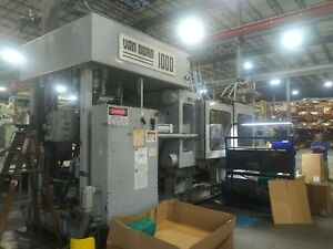 1995 Van Dorn 1000 ton Plastic Injection Molding Machine