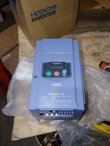 New Hitachi Inverter L100 022hfu 3hp Variable Frequency Drive Vfd