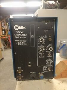 Miller Xr w Mig Wire Feeder Water Cooled