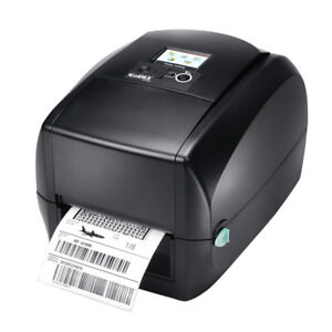 Godex Rt730i 4 amp quot Thermal Transfer Printer 300 Dpi Usb Rs232 Ethernet