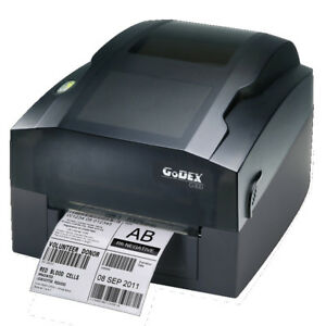 Godex G330 4 amp quot 300 Dpi Thermal Transfer Printer Usb Rs232 Lan