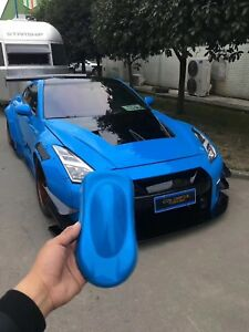 Walker Style 2 R35 Gtr Aero Wide Body Kit Front Bumper Hood Rear Bumper Fender